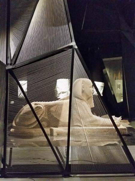 Sphinx emblème Partie 1 expo